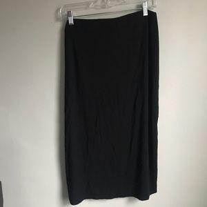 Black Midi Pencil Skirt Old Navy